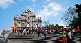 Macau Zhuhai Branch Company accept Taiwan Matsu Sodality Team to visit Zhuhai, Shenzhen and Macau