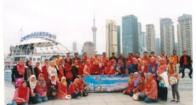 Beijing Branch Received a 668-person Group from Malaysia Hai-O Marketing Sdn.Bhd