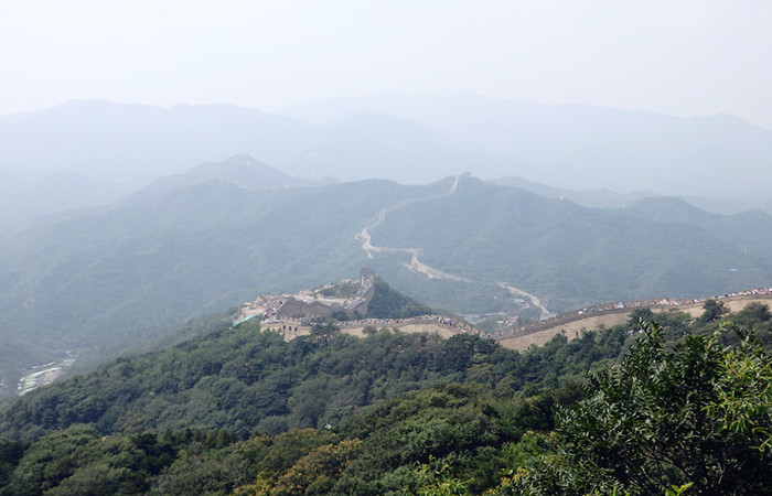 Badaling Great Wall, Ming Tombs and Exterior View of Beijing Olympic Stadium