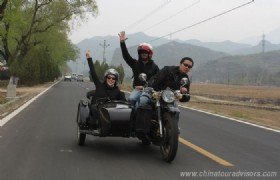 Beijing Riding Around 2 Hours Tour