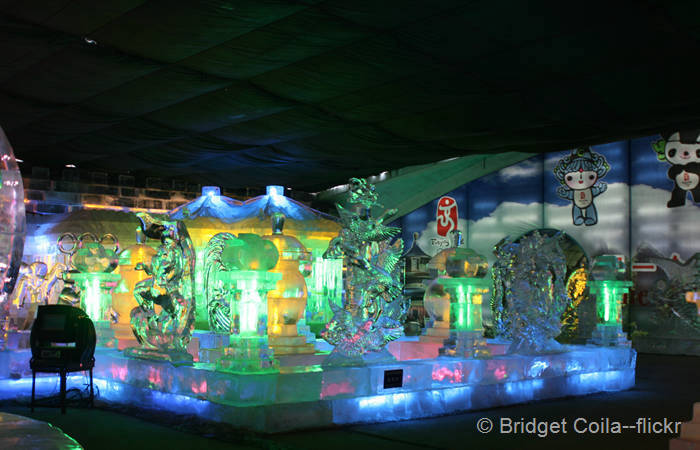 Longqing Gorge Ice Festival