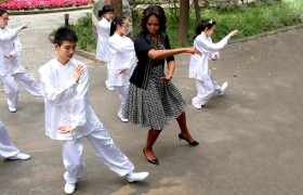 US First Lady 7 Days China Tour