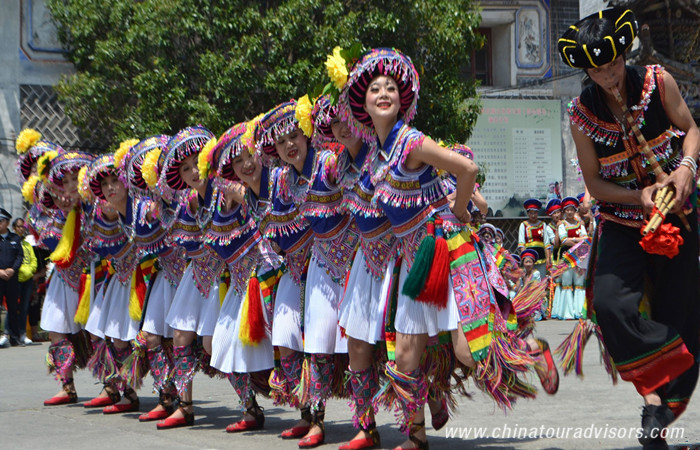 March Fair of Bai Minority Group