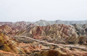 Zhangye Danxia National Geological Park