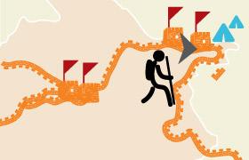 Jinshanling Simaitai Jiankou Mutianyu 2 Days Hiking and Camping Tour