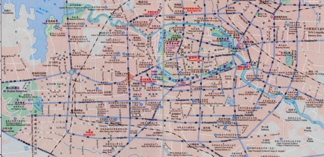 Hefei City Map