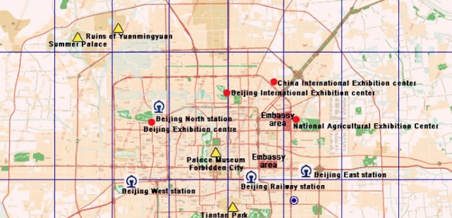 Beijing Railway Station Map