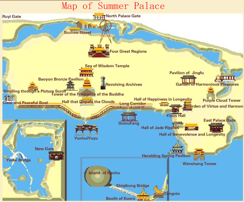 Summer Palace Map