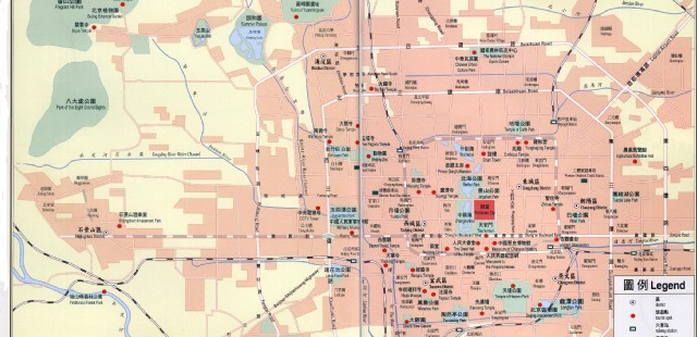 Beijing Attraction Map