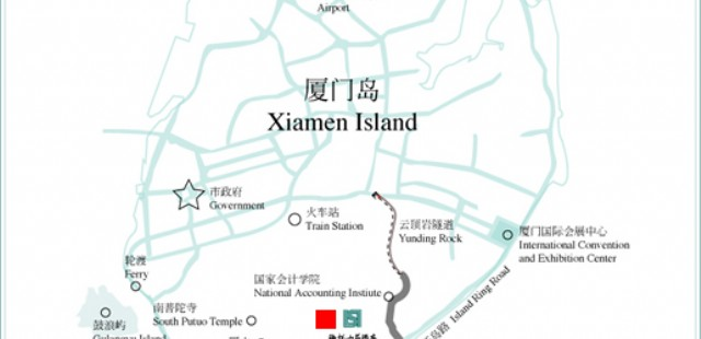 Xiamen Toursit Map