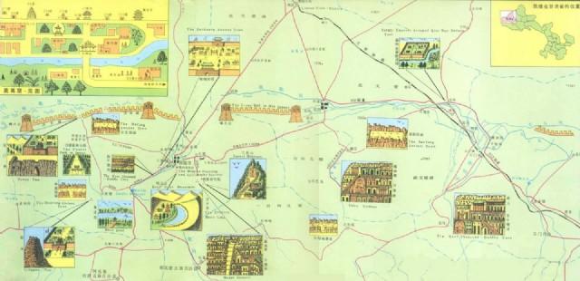 Dunhuang Tourist Map