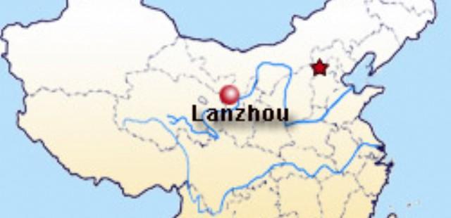 Lanzhou Map