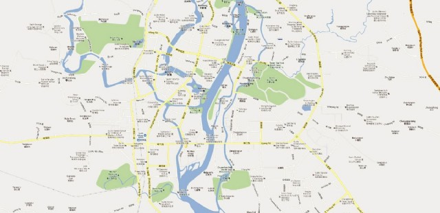 Guilin City Map