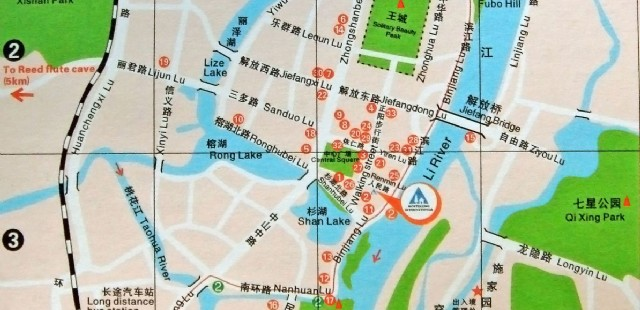 Guilin Transportation Map