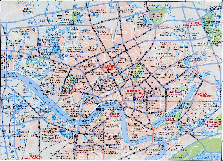 Nanning City Map