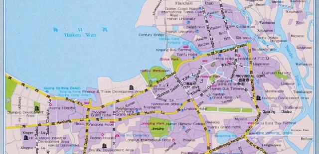 Haikou Travel Map