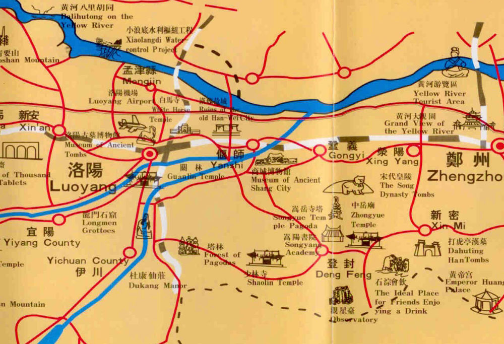 Luoyang Location Map