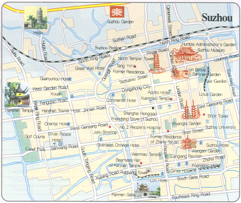 Suzhou Transportation Map
