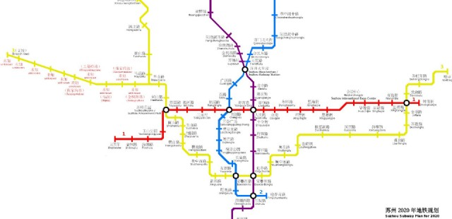 Suzhou Subway Map