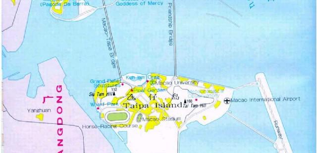 Macau City Map