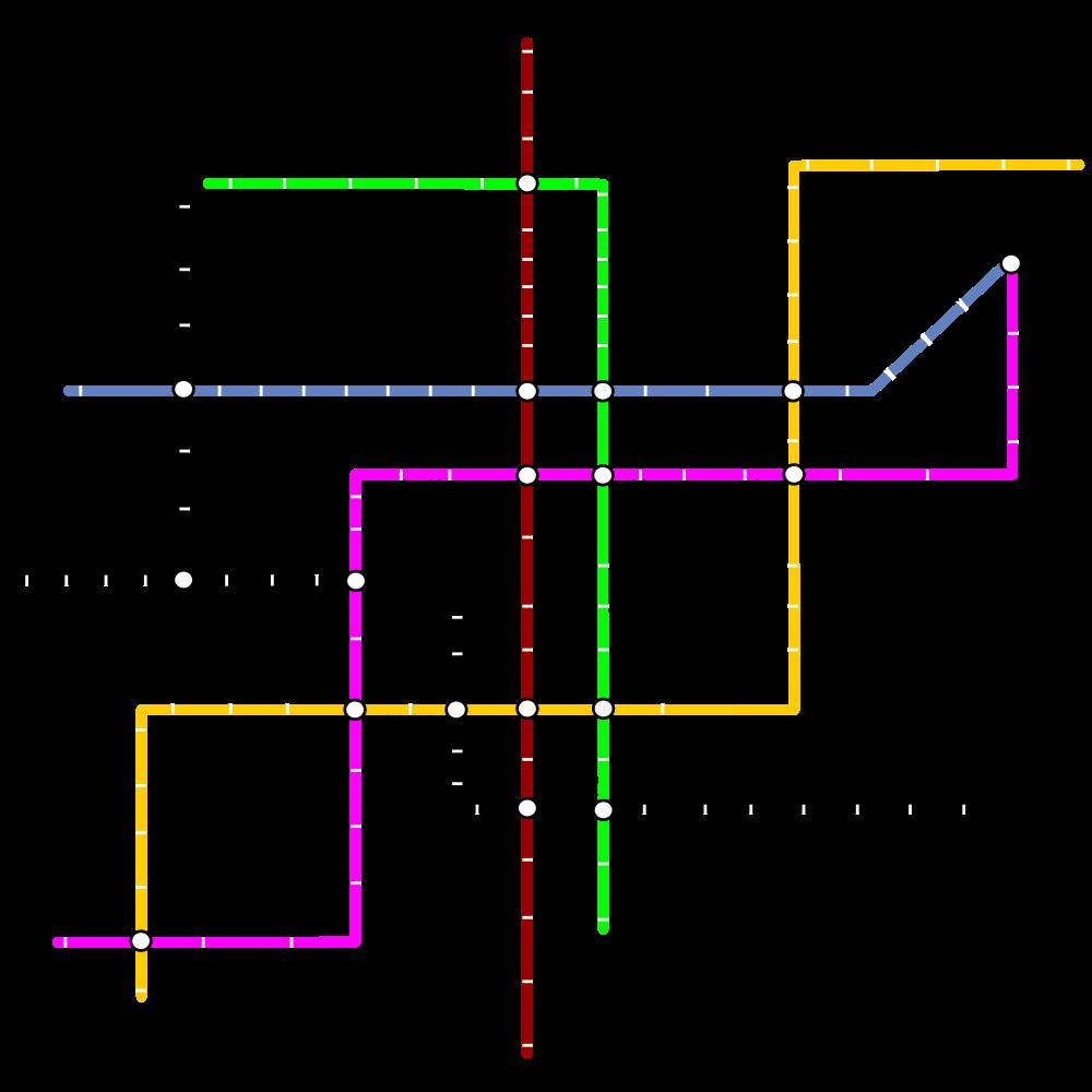 Xian Subway Map