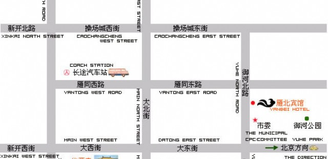 Datong Street Map