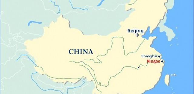 Ningbo Location Map