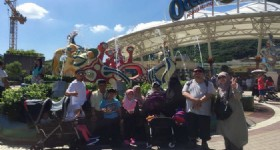 4 Days Hong Kong Tour- 13 People from Malaysia at Hong Kong Ocean Park