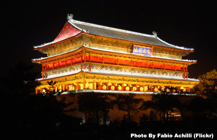 Xian Bell Tower and Drum Tower