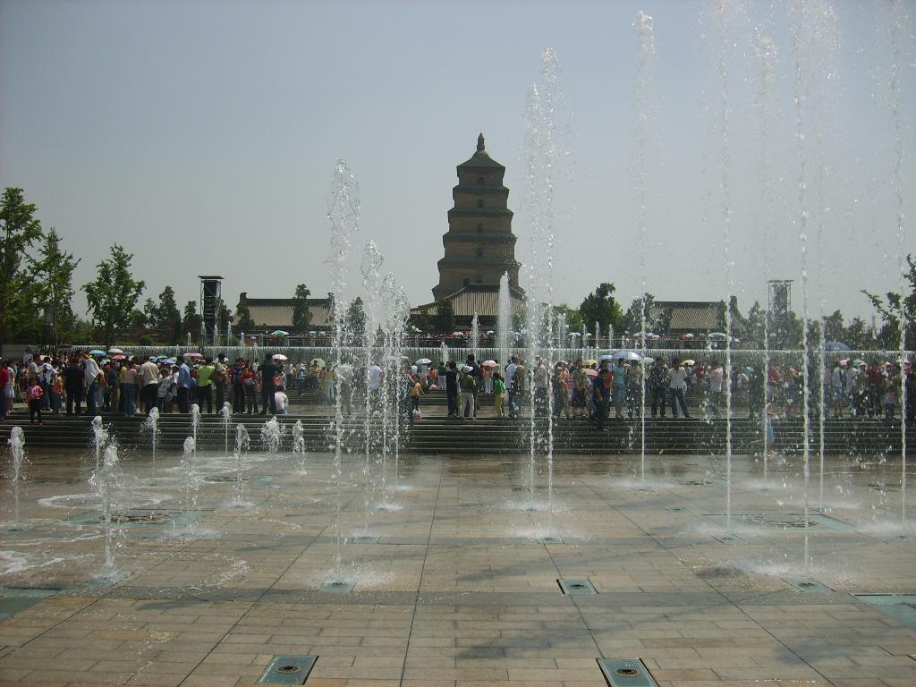 Xian Musical Fountain Tour