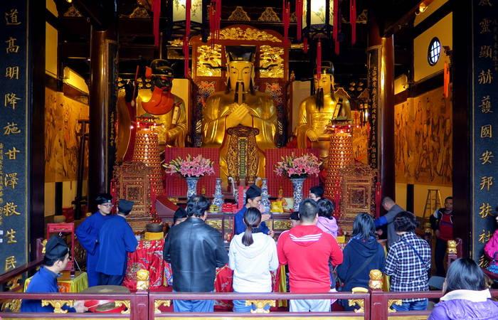 Chenghuang Temple Bazaar