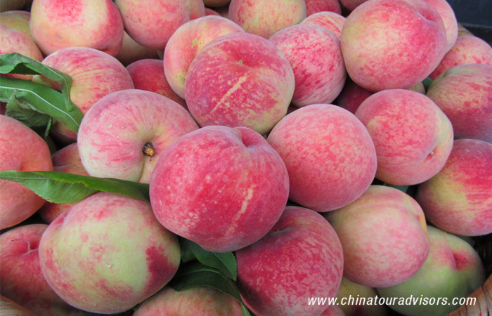 Beijing Pinggu Peaches