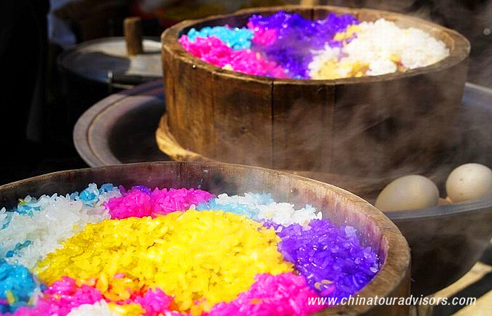 Five Colored Rice
