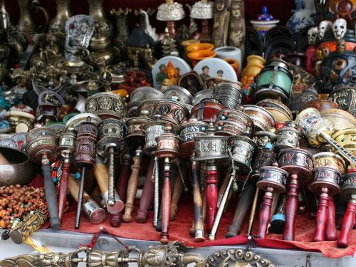 Barkhor Street Marketplace