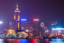 Amazing Night at Hong Kong's Victoria Harbor