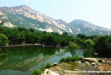 The Attractive Baihujian Scenic Spot
