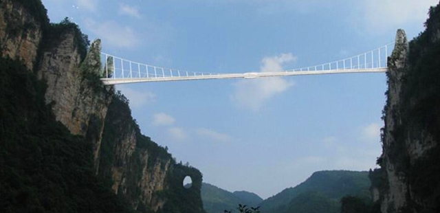 Zhangjiajie World's Longest and Highest Glass Bridge