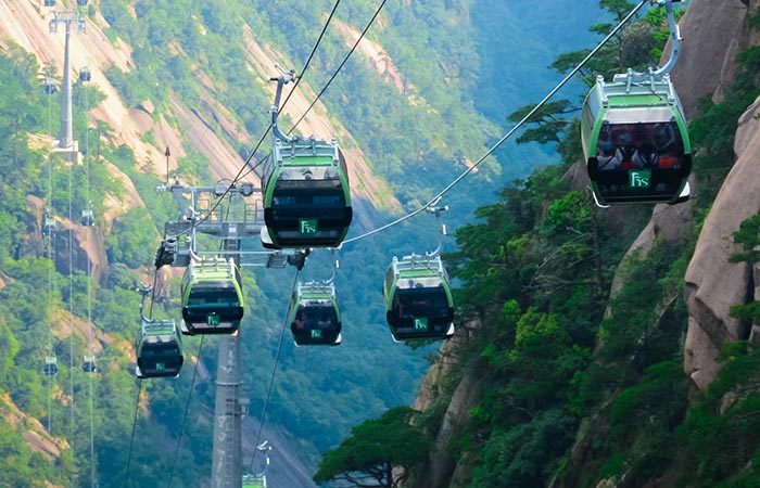 Mount Huangshan Cable Cars
