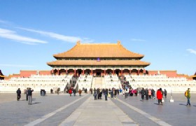 Panoramic View Of The Forbidden City From Jingshan Park Half Day Photo Tour