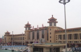 Beijing to Datong by train No.K615 (3:40PM - 9:45PM)