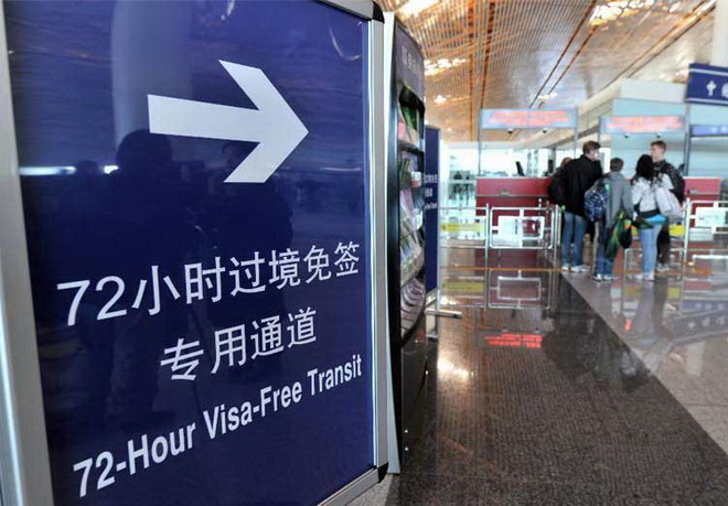 China visa free transit