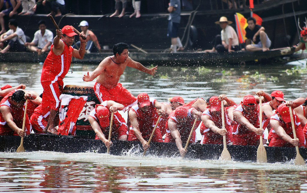 Pin Dragon Boat Festivals Are Held From February Through