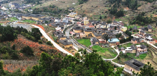 Yongding Tulou Cluster