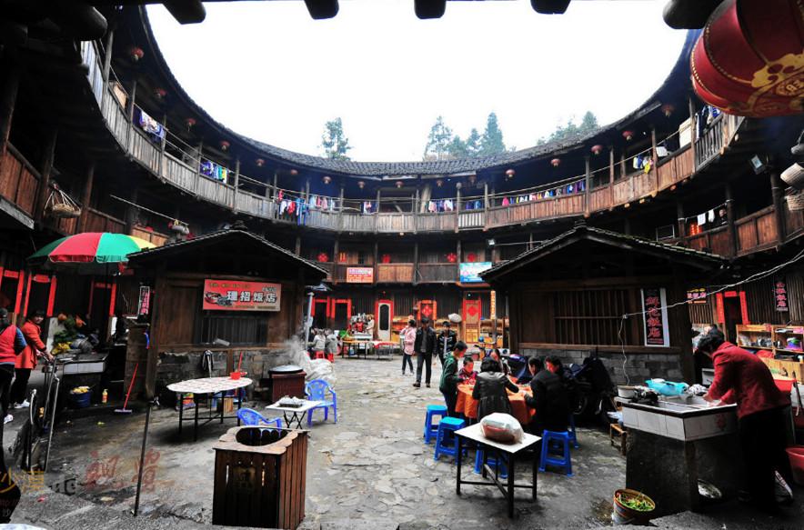 Nanjing Tianluokeng Tulou Cluster