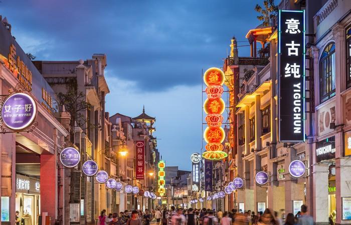Shangxiajiu Shopping Street