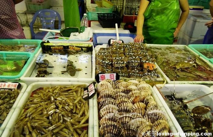 Wanzai Pier Seafood Street