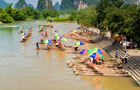 Gulin to Yangshou to Guilin