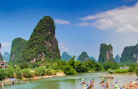 Guilin to Yangshuo (By Cruise)