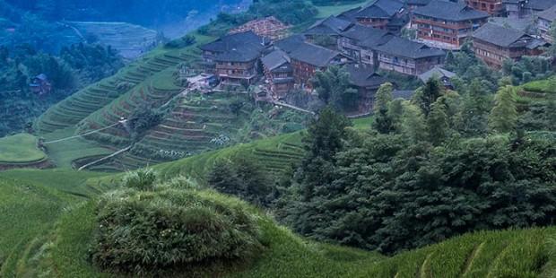 Minority Village in Longji