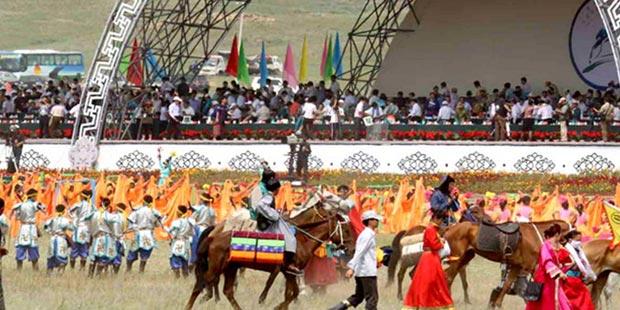 Naadam Fair on Gegentala Grassland